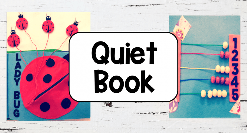 How to Make a Quiet Book for Kids