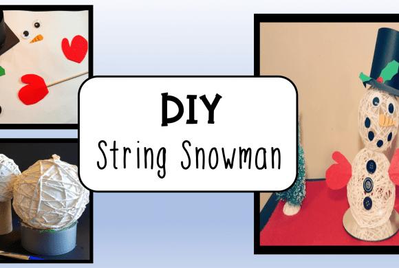 Winter Craft Ideas for Kids Snowman