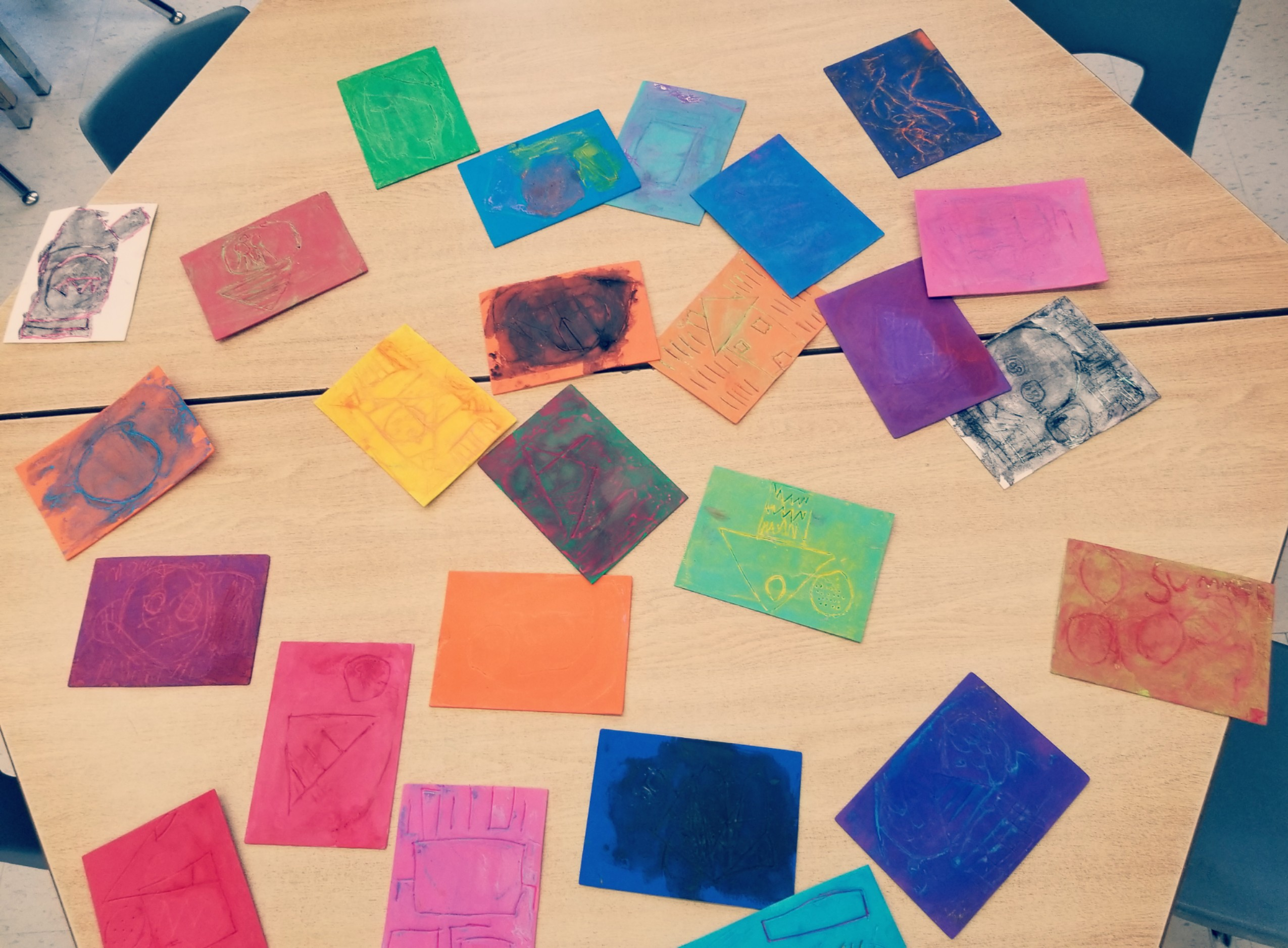 Craft Ideas For Kids Printmaking Hands On Teaching Ideas