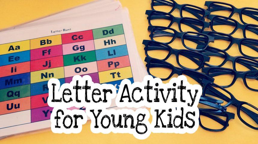 Alphabet Hunt (Letter Games)