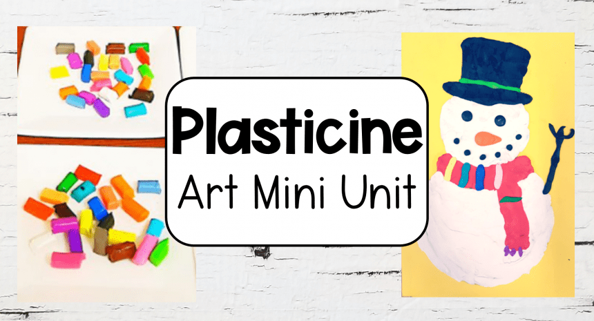 Preschool and Kindergarten Activities with Plasticine