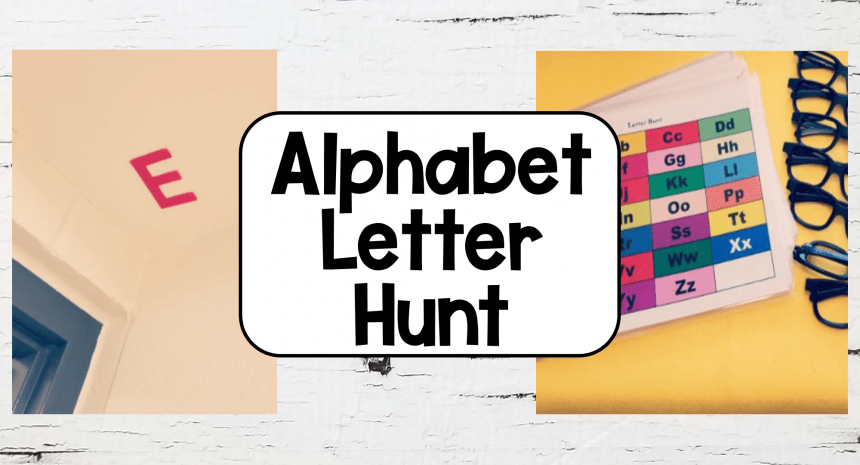Fun Letter Games to Make Learning Meaningful
