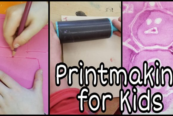 Craft Ideas for Kids – Printmaking