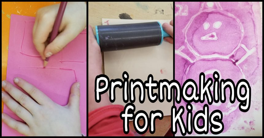 Craft Ideas for Kids – Printmaking