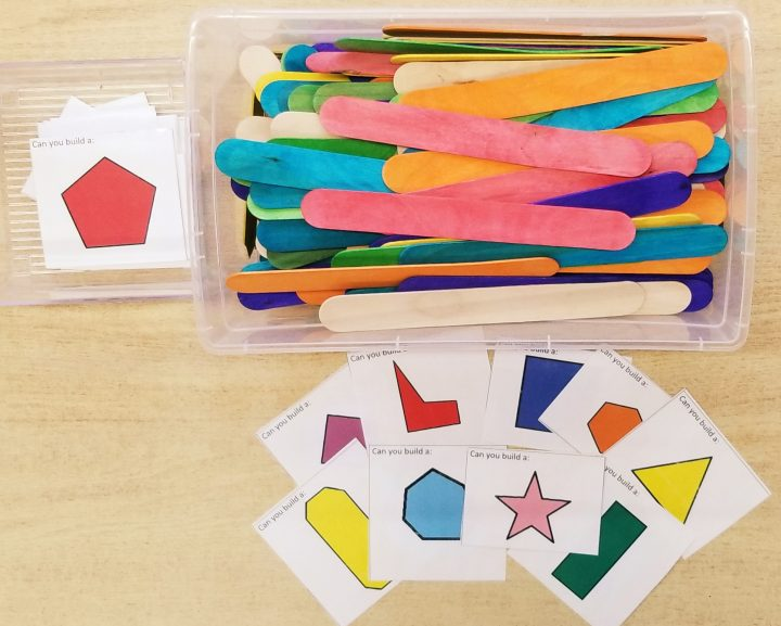 math activities for preschool