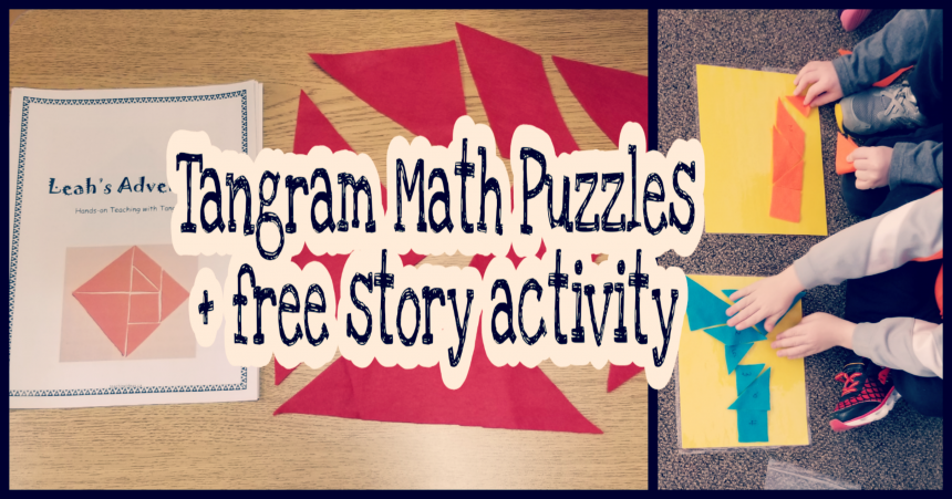 Tangram Math Activity for Kids