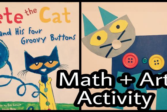 Pete the Cat – Math Activities for Preschoolers