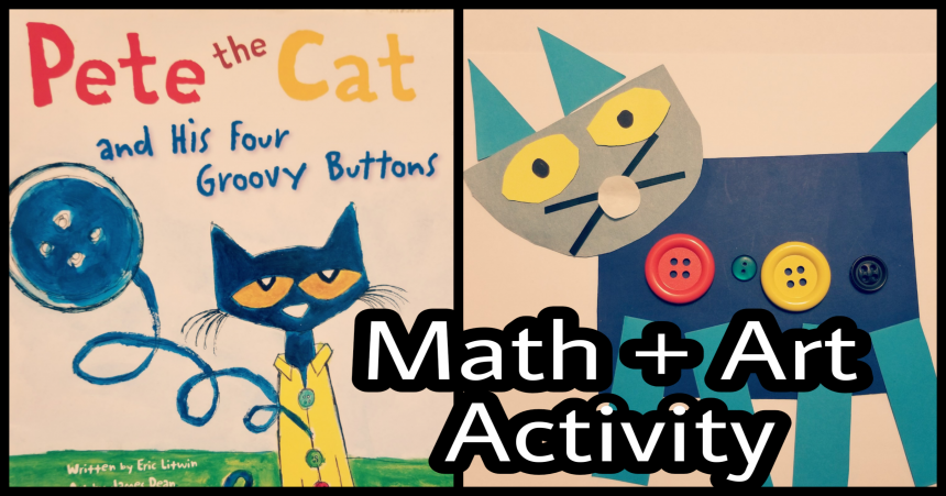 Pete the Cat – Math Activities for Preschoolers
