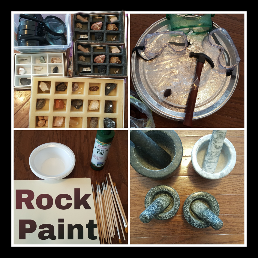 Homemade Paint – Rock Paint