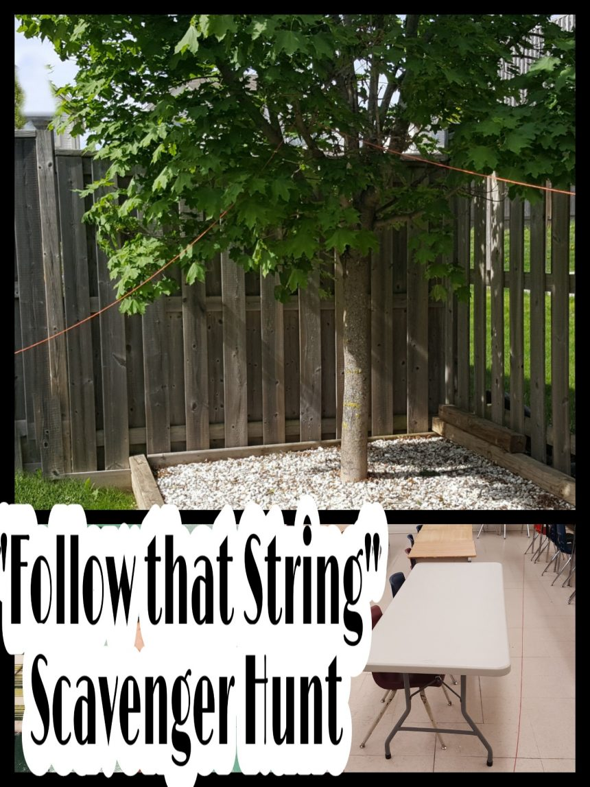 Scavenger Hunt – Follow the String
