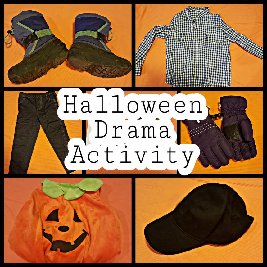 Halloween Drama Activity
