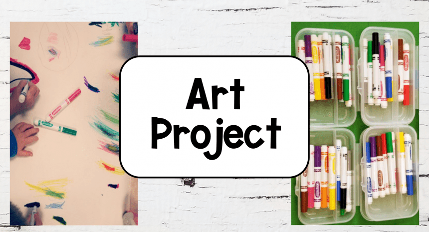 No Prep Art Projects for Kids