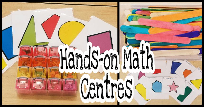 5 Math Activities for Preschool and Kindergarten