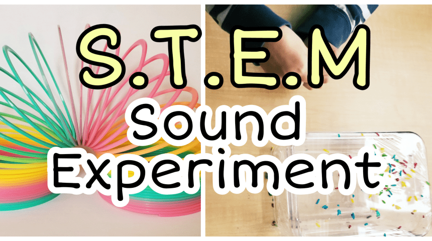 Sound Experiment for Kids