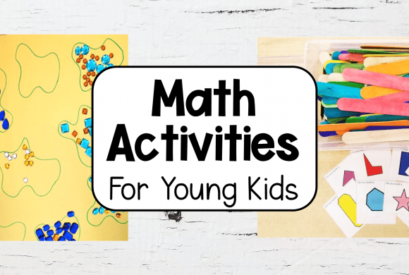 5 Math Activities for Preschool and Kindergarten
