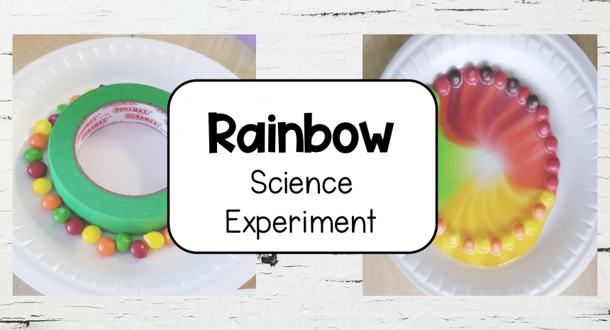 Rainbow Experiment for Young Kids