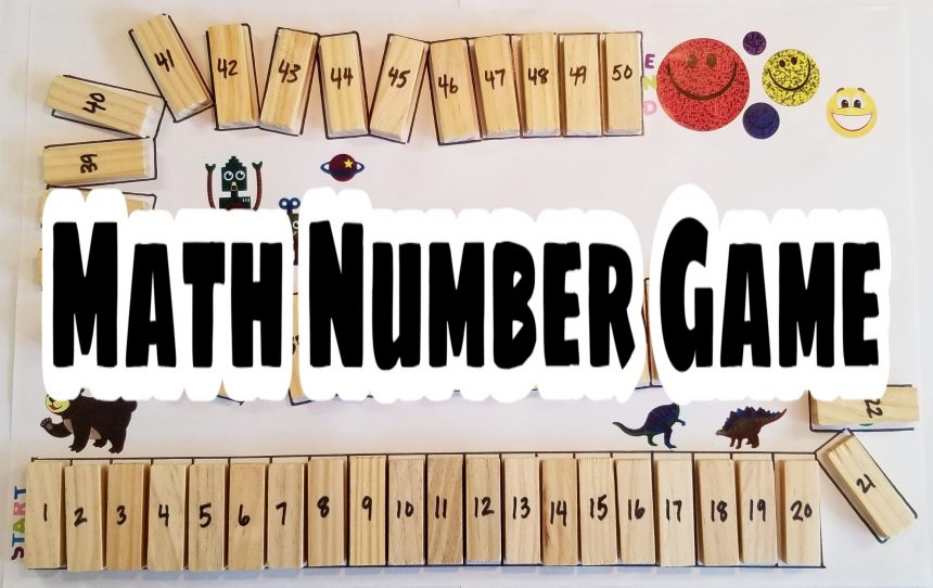Math Number Game and Printable