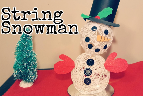 Winter Craft Ideas for Kids – Snowman