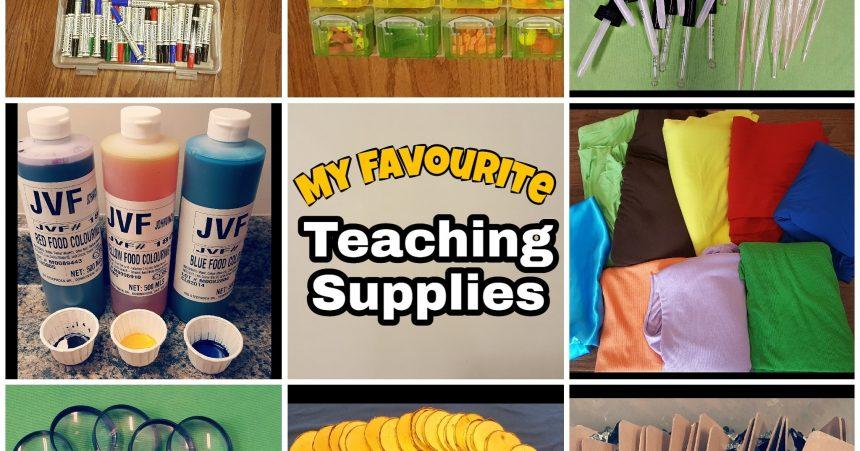 Teacher Supplies for Teaching 3-6 year Olds