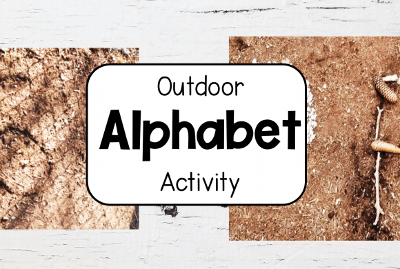 Outdoor Education Alphabet and Number Activity