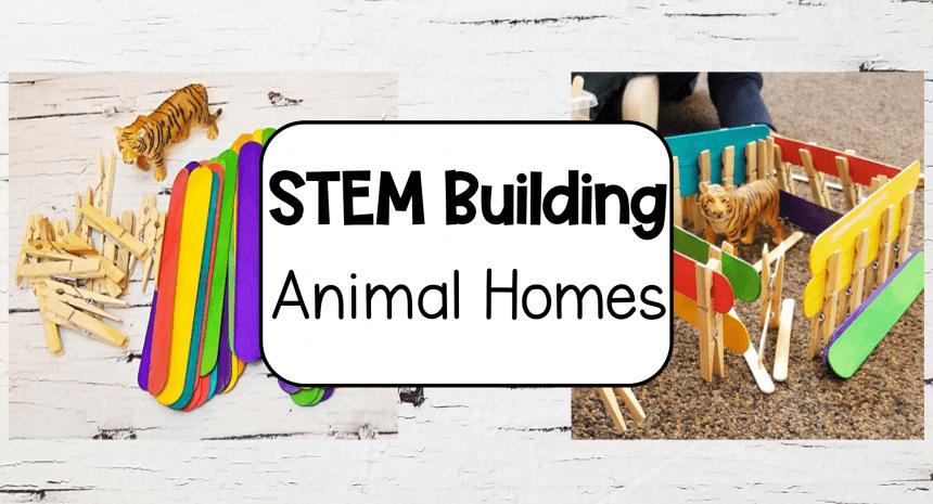 Animal STEM for Kids in Kindergarten and Primary