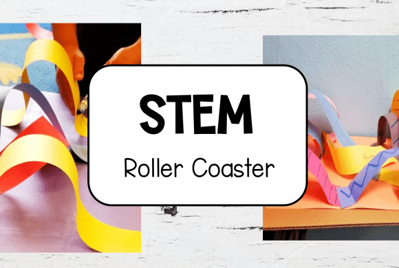 STEM Activity Make Your Own Paper Roller Coaster