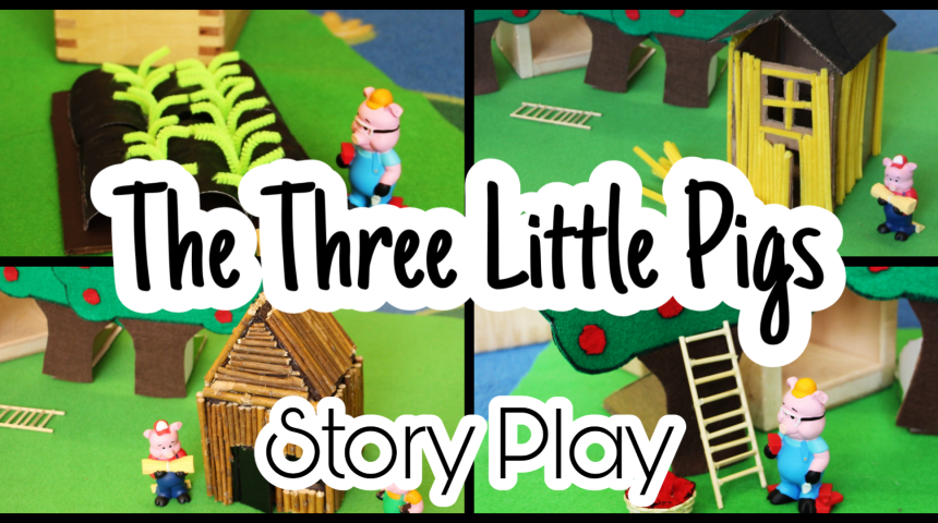 The Three Little Pigs Story Play