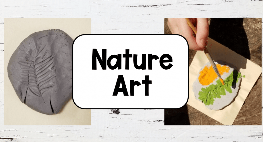 Easy Outdoor Nature Art for Kids