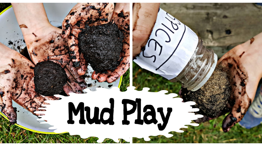 Summer Activities – Mud Play