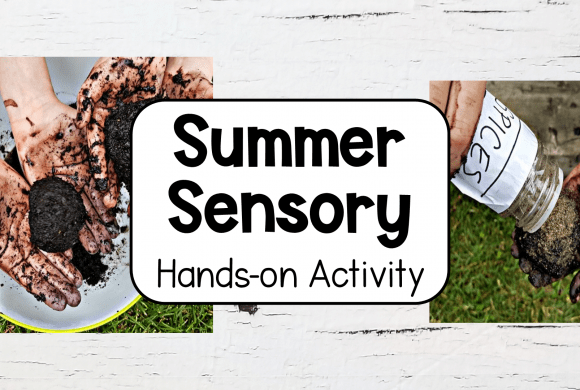 Summer Activities Sensory Mud Play