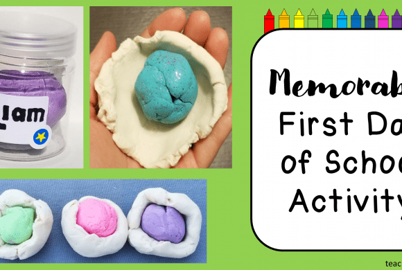 Memorable First Day of School Activity