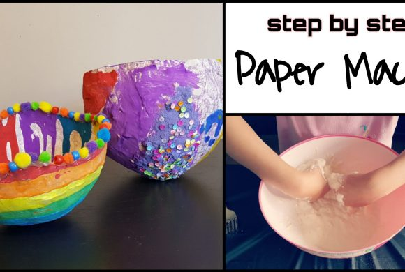 Simple Paper Mache for Kids