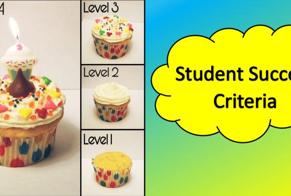 Success Criteria – Grading Levels