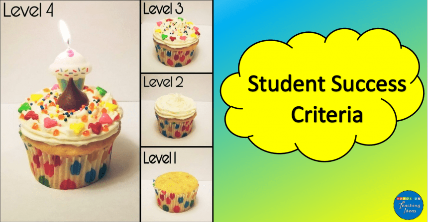 Success Criteria – Grading Levels