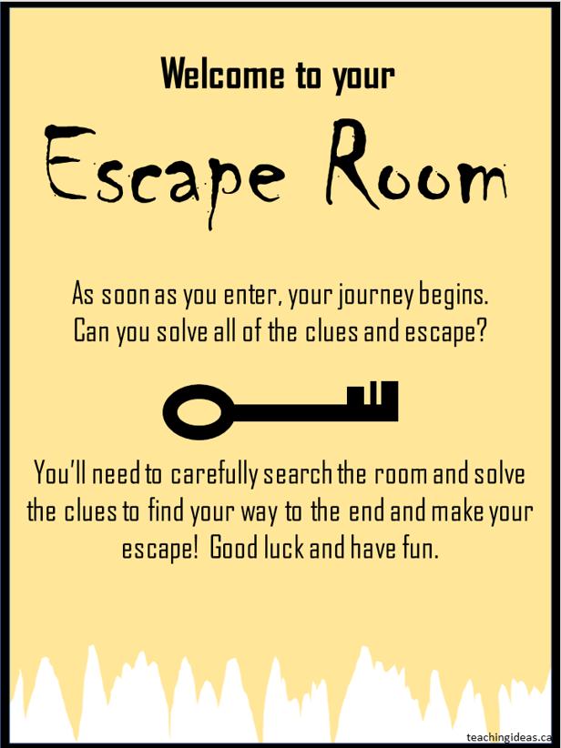 escape rooms