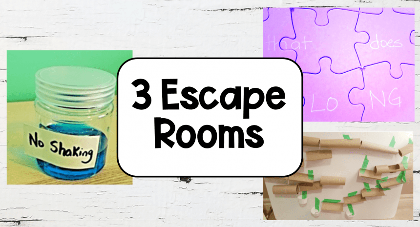 3 Best Escape Rooms for Kids