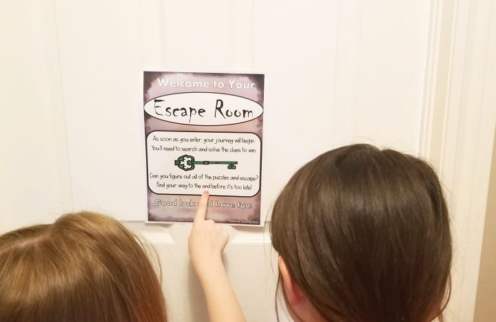 escape room for kids
