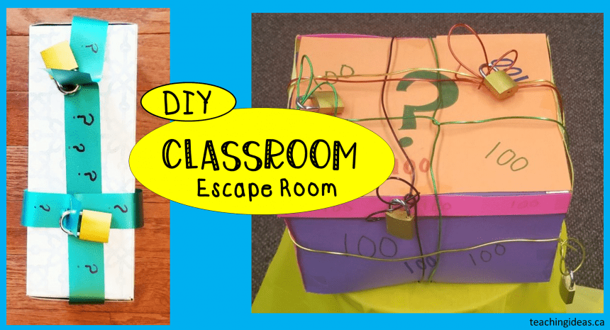 Easy Classroom Escape Room for Any Subject