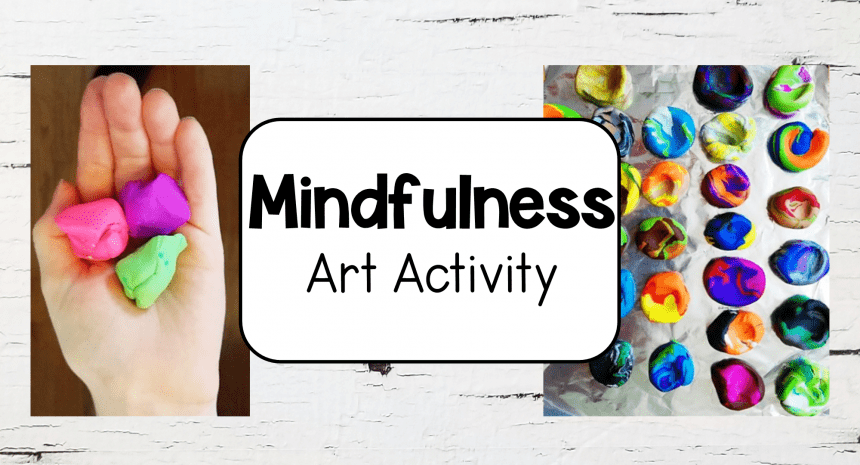 Mindfulness Art Activities for Kids to Use to Calm Down