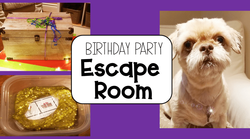Birthday Party Escape Room for Kids