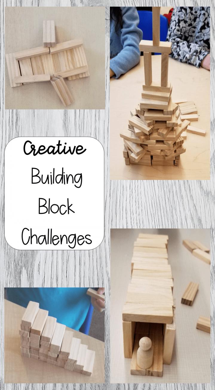 Stem Building Blocks Challenge For Kids Science Stem