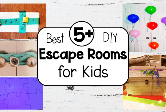 5+ Best DIY Escape Room Ideas for Kids
