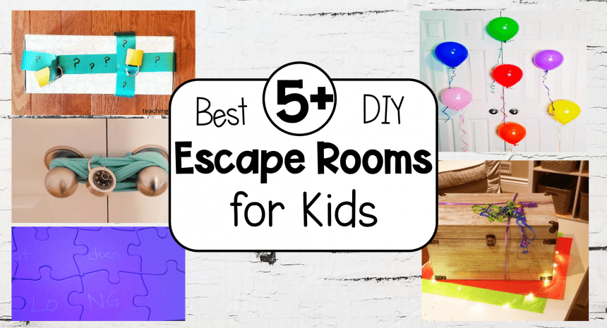5+ Best DIY Escape Room Ideas for Kids