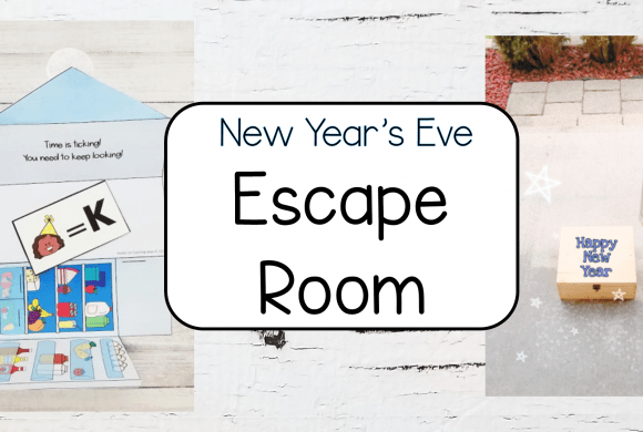 Escape Room Puzzles for New Year's Eve