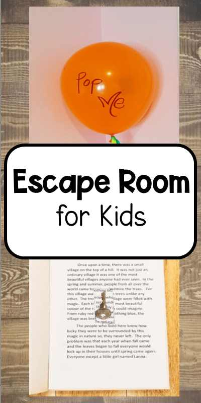 Diy Escape Room For Kids Hands On Teaching Ideas Escape Rooms