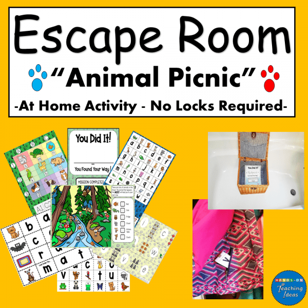 Escape Room for Kids Whole House
