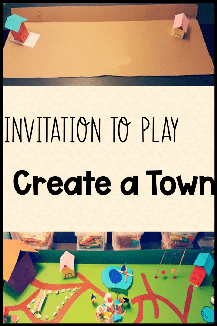 invitation to play create a town