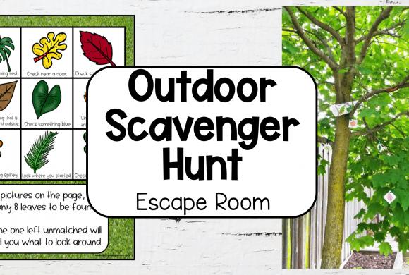 Outdoor Scavenger Hunt Escape Room