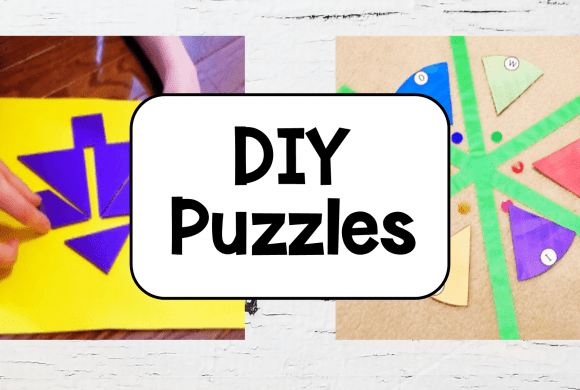 27 DIY Puzzles for Kids