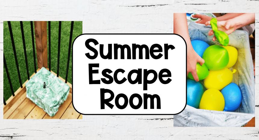 Summer Escape Room for Kids